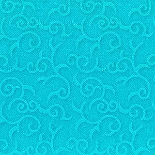 """50 Servietten &quotROYAL Collection"""" 1/4-Falz 40 cm x 40 cm türkis &quotCasali"""" 84887 Papstar Premium stoffähnlich hochwertig Qualität stabil gute Faltbarkeit Dekorservietten"""