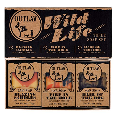Outlaw Wild Life Homemade Natural Soap Gift Set