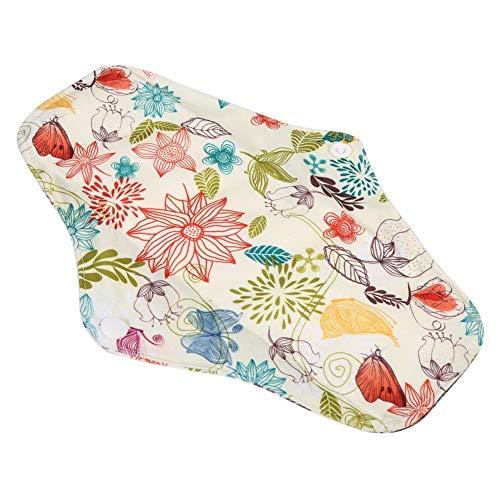 Sanitaire Pad Herbruikbare Houtskool Bamboe Doek Menstrual Pads Wasbaar Sanitaire Handdoek Panty 4 Kleuren WSD8
