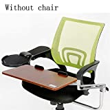 Ergonomics Chair Extender, Keyboard Tray Clamp on and Mouse Pad, Ergonomic Computer Keyboard for Working...