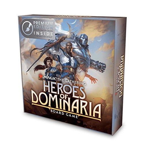 WizKids Magic: The Gathering: Heroes of Dominaria Board Game Premium Edition