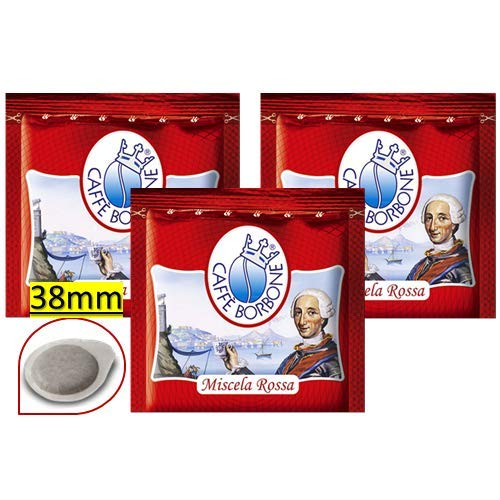 150 Cialde Filtro Carta 38Mm Caffe' Borbone Miscela Rossa