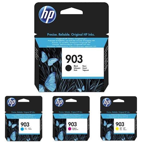 HP 903 Schwarz/ Cyan/ Magenta/ Gelb Original Druckerpatronen für HP Officejet, HP Officejet Pro