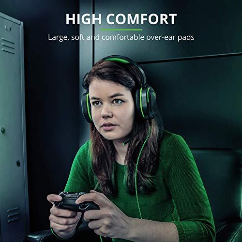 Trust GXT 422G Legion Gaming Headset für Xbox One (50 mm-Aktivlautsprecher, Drehbare Ohrmuscheln, Abnehmbarer Mikrofon) schwarz