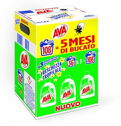 Ava Detergente Lavadora líquido–Paquete de 3x 6054G