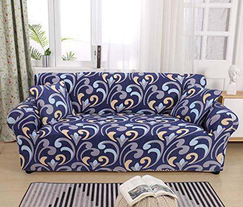 Fundas para Sofa Jacquard Fundas Sofá,Universal Funda Cubre Sofas Ajustables, Antideslizante Protector Cubierta de Muebles(235-310cm)