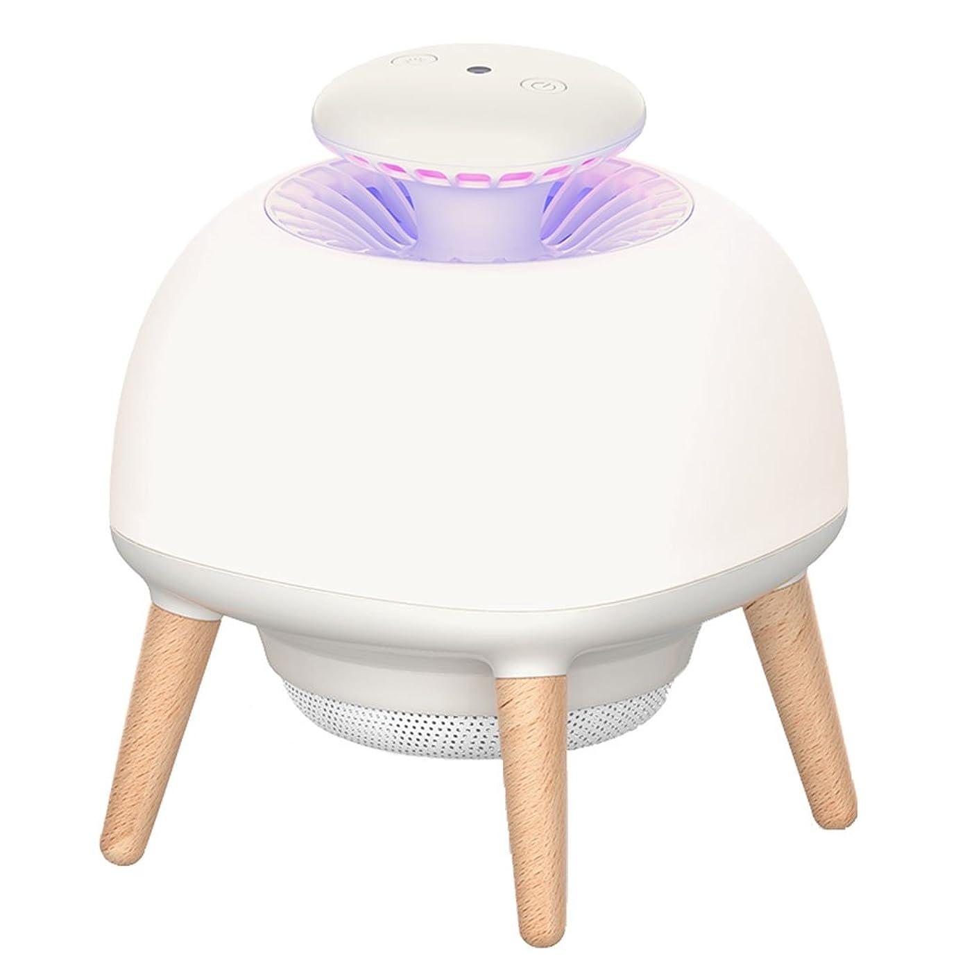 突進拍車ラップトップモスキート昆虫キラーランプ、LEDライト模擬体温フライングキラー忌避剤、USBモスキートトラップ昆虫キャッチャー、スリーモード