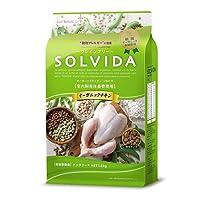 2個セット ライトハウス ソルビダ(SOLVIDA) グレインフリー チキン 室内飼育体重管理用 1.8kg×2個セット