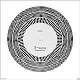 SHIZHI LP Vinyl Record Turntable Tocómetro Tacómetro Phono Calibración Strobe Disc Stroboscope Mat 35 45 78 RPM W91A