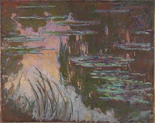 Das Museum Outlet–claude-oscar Monet–Wasserlilien, Sun–Poster Print Online kaufen (101,6x 127cm)