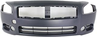 Front BUMPER COVER Primed for 2009-2014 Nissan Maxima