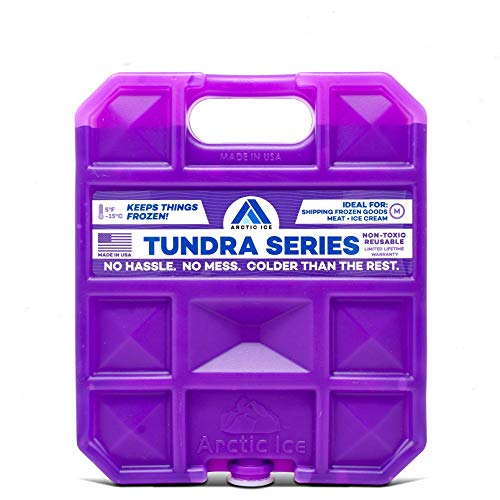 Long Lasting Ice Pack for Coolers, Camping, Fishing and More, X-Large Reusable Ice Pack, Tundra Series by Arctic Ice