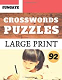 Crosswords Puzzles: Fungate Crosswords USA Easy large print English crossword puzzle books for seniors | Classic Vol.92 (Crossword Large Print)