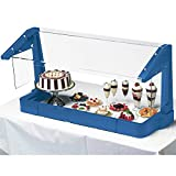 Cambro Protector para mostrador de Buffet, Color Azul Marino, Talla única