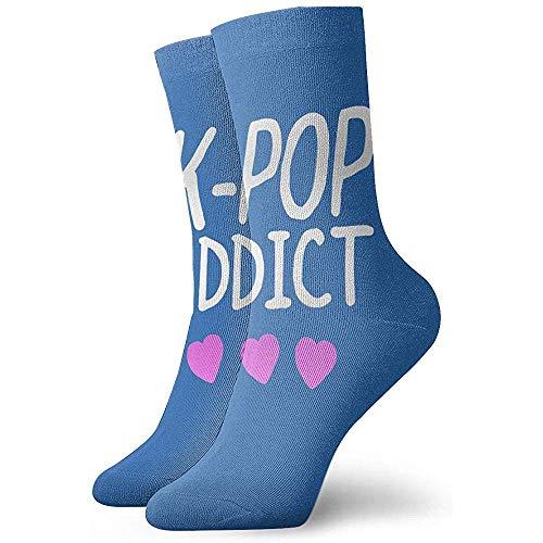 Dydan Tne Calcetines de algodón K-Pop para Hombre Calcetines térmicos de Invierno