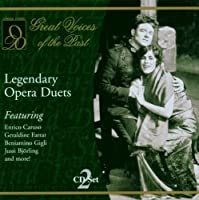Legendary Opera Duets by Legendary Opera Duets (2001-05-03)