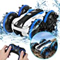 KINGBOT Remote Control Car RC Truck Toys, Electric Off Road Race Stunt Cars 2.4GHz 4WD Double Sided 360 Rotating, RC Monster Remote Control Vehicle Toy Gift for 4 5 6 7 8-12 Year Old Boy from KINGBOT