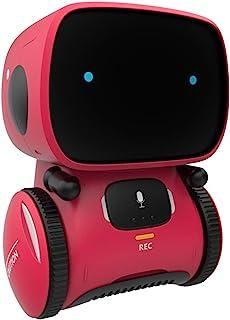 Toy Robot Toys ، Robots Talking Smart ، هدیه برای پسران و دختران سن 3+ ، شریک و معلم هوشمند ، با سنسور کنترل شده و لمسی صدا ، آواز ، رقص ، تکرار