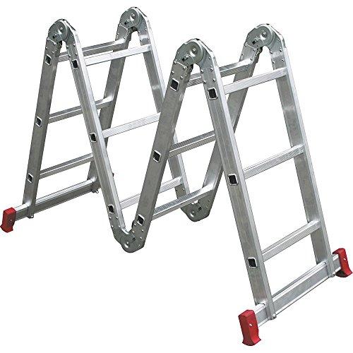 Escada de alumínio articulada '13 em 1' capacidade 150 kg - EA131