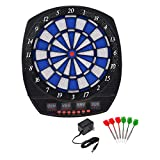 20' Electronic Dart Board LCD Display Sound Effects w/ Score Review
