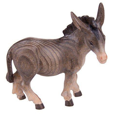 MaMeMi Krippenfigur Esel stehend * Münsterland-Krippe handbemalt