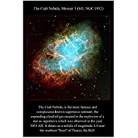 かに星雲ハッブル宇宙望遠鏡の画像ポスターとプリント壁アートキャンバス絵画リビングルームの家の装飾ギフト-50x70cmフレームなし