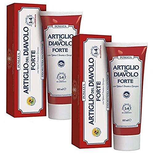 Erboristeria Magentina Pomata Artiglio del Diavolo 100 ml (2 Confezioni da 100ml)