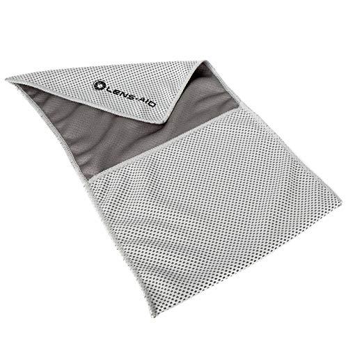 Lens-Aid Einschlagtuch für Kamera, Objektiv usw, Kameratasche BZW. Beutel als Schutz für DSLR, Digitalkamera, Einschlagtasche (S) 15 x 13 cm