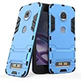 Moto Z2 Play Case, SsHhUu Shock Proof Cover Dual Layer