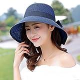 LLZTYM Cappello da Sole/Ragazza/Estate/Spiaggia/Ombrellone/Crema Solare/Cappello di Paglia/Viaggio/Regalo, Giovane