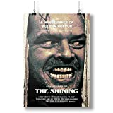 INNOGLEN 1980 The Shining Movie Film A0 A1 A2 A3 A4 Satin