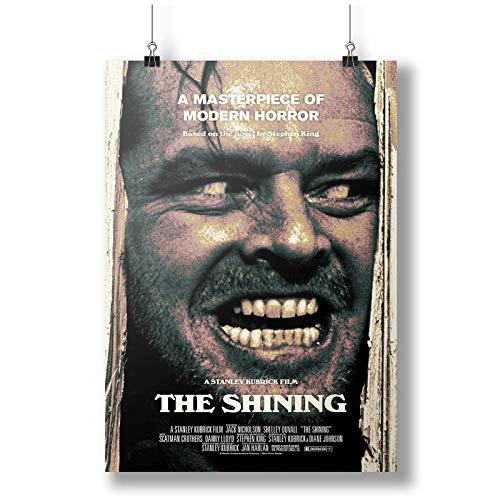 1980 The Shining Movie Film A0 A1 A2 A3 A4 Affiche photo en satin p10429h