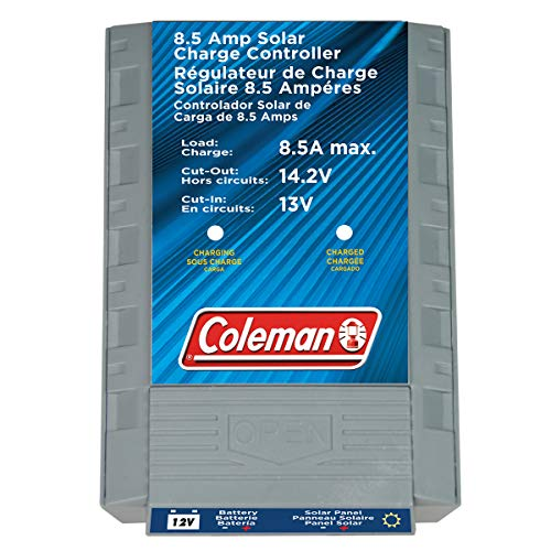 Coleman 8.5 Amp, 12-Volt Solar Charge Controller