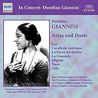 In Concert: Dusolina Giannini