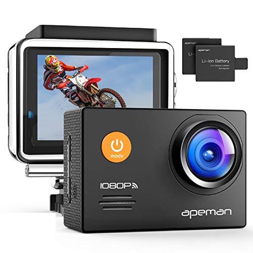 APEMAN Action Cam 1080P Full HD