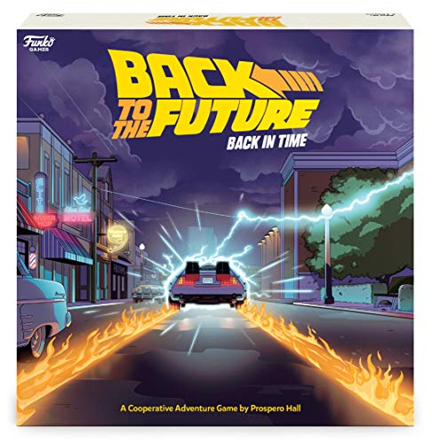 Funko Back to The Future Back in Time Board Game $19.45