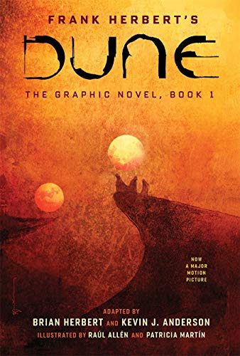 Compare Textbook Prices for Dune: Book 1 Dune: The Graphic Novel Volume 1 Illustrated Edition ISBN 9781419731501 by Herbert, Brian,Anderson, Kevin J.,Herbert, Frank,Allén, Raúl,Sienkiewicz, Bill