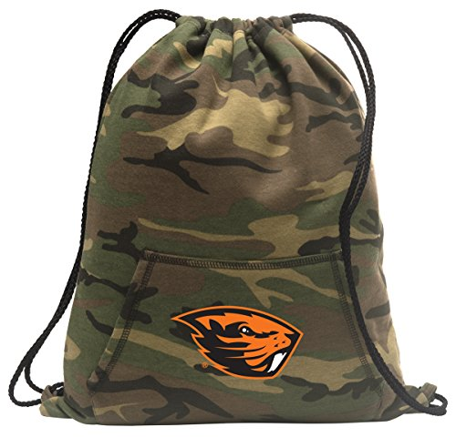 Broad Bay Camo Oregon State Cinch Bag Cool Hoody Cinch Backpack