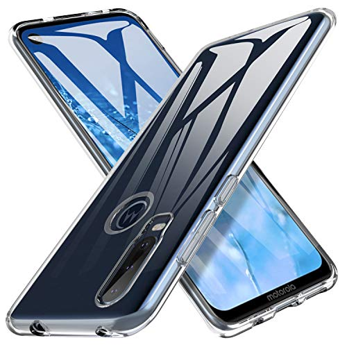iBetter für Motorola One Action Hülle, Soft TPU Ultradünn Cover [Slim-Fit] [Anti-Scratch] [Shock Absorption] passt für Motorola One Action Smartphone,klar