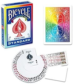 Bicycle Poker Deck (RAINBOW Back) by Di Fatta and USPCC - Trick