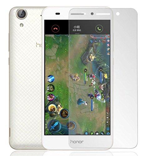 Laybomo Película Templada para Huawei Honor 5A (Huawei Y6 II) Protector de Pantalla de Cristal 9H Dureza Vidrio Templado Protector para Huawei Honor 5A (Huawei Y6 II)