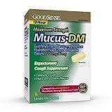 Best Cough Expectorants - GoodSense Maximum Strength Mucus DM, Expectorant and Cough Review