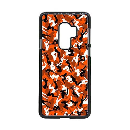 Generic Compatible conHermosura Tener Camo 2 Cajas De Teléfono Duro Abs para Mujeres Samsung s 9