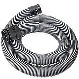 SPARES2GO 1.7m Tubo Tubo per Miele S2110 S2111 S2180 S2181 Compact Aspirapolvere (38 mm, argento)