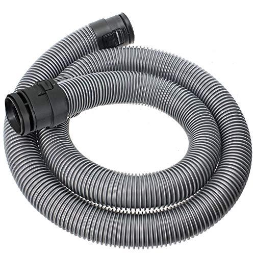 Spares2go – Tuyau flexible pour aspirateur Miele S2110, S2111, Compact, S2180, S2181, 1,7 m (38 mm, argenté)