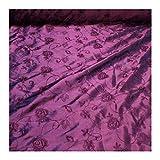 Stoff am Stück Stoff Polyester Kleidertaft violett