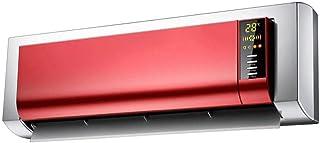 Calefactor eléctrico de Control Remoto Calentador de baño de Pared 2000W Rojo