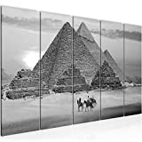 Runa Art Wandbild XXL Ägypten Pyramiden 200 x 80 cm