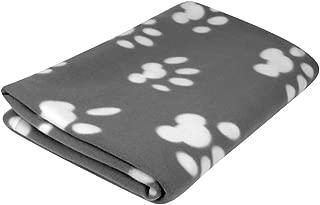 Evelots Pet/Personal Blanket-Cat/Dog Paws-Soft Fleece-5 Foot Long-Asst.Colors