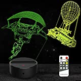 Boys Gifts Toys Balloon Night Light 3D Lamp Illusion 7 Colors Changing Remote & Touch Control Birthday Xmas Christmas Gifts for Age 1 2 3 4 5 6 7 8+ Year Old Kids Boys